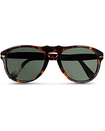 Persol PO0649 Sunglasses Havana/Crystal Green