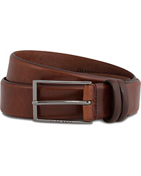 BOSS Carmello Leather Belt 3,5 cm Medium Brown