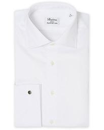 f3f72229ad73 Cashmere Cardigan Olive · Stenströms Slimline Double Cuff White