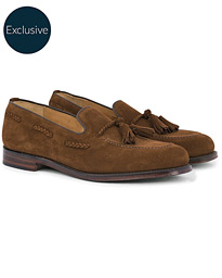 wholesale dealer 05bf1 91bb4 Loake 1880 MTO Temple Loafer Polo Suede