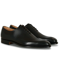 Crockett & Jones Alex Wholecut Oxford Black Calf