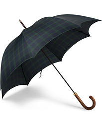 Fox Umbrellas Hardwood Umbrella Blackwatch Tartan