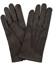 Hestra Peccary Handsewn Unlined Glove Black
