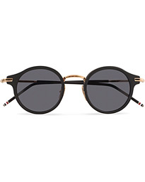 Thom Browne TB-807 Sunglasses Matte Black/Dark Grey