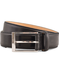 Helmi Leather 3,5 cm Belt Black
