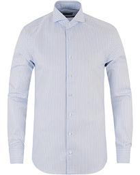 2f1ff7e12944 Slimline Striped Shirt Light Blue