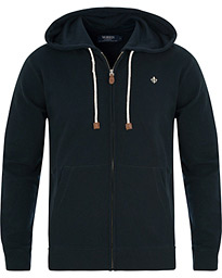 Morris Full Zip Hoodie Old Blue