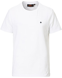 James Crew Neck Tee White