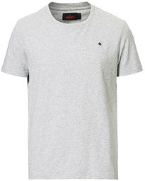 James Crew Neck Tee Grey Melange