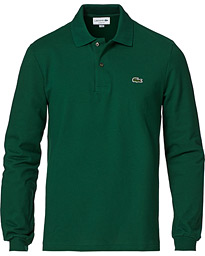 Lacoste Long Sleeve Polo Green