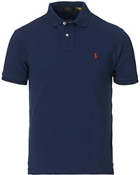 Slim Fit Polo Newport Navy