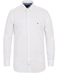 Slim Fit Stretch Oxford Shirt Bright White