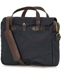 Original Briefcase Navy Canvas