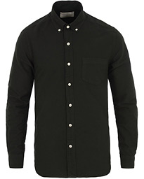A Day's March Dyed Oxford Shirt Black
