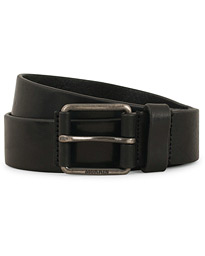 Leather Jeans 3,5 cm Belt Black