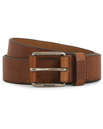 Leather Jeans 3,5 cm Belt Brown