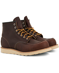 Red Wing Shoes Moc Toe Boot Briar Oil Slick Leather