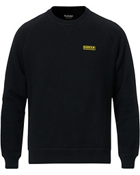 Barbour International Essential Crew Neck Sweat  Black