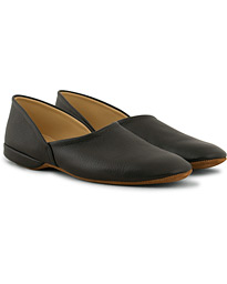 Grecian Home Slipper Black