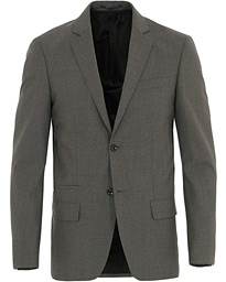 Filippa K Rick Cool Wool Blazer Grey Melange