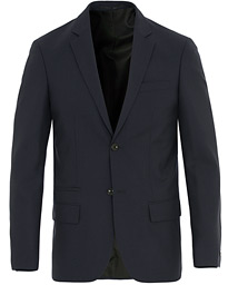 Filippa K Rick Cool Wool Blazer Hope Blue