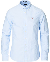 GANT Slim Fit Oxford Shirt Capri Blue