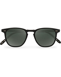 Garrett Leight Brooks 47 Sunglasses Matte Black/Blue Smoke Polarized