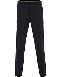 Malthe Wool Stretch Trousers Navy
