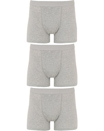 Bread & Boxers 3-Pack Boxer Brief Grey Melange