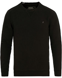 Replay Crew Neck Sweatshirt Black