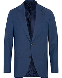 Fogerty Wool Blazer Blue