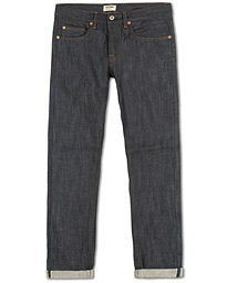 C.O.F. Studio M3 Regular Tapered Fit Selvedge Jeans Unwashed Blue
