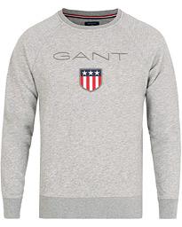 gant hoodie grå
