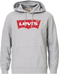 Levi's Graphic Hoodie Midtone Heather Grey