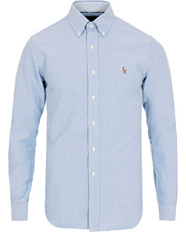 Polo Ralph Lauren Slim Fit Contrast Oxford Shirt Blue 1a48565876534
