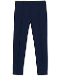 Wool Stretch Trousers Ink Blue