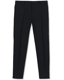 Wool Stretch Trousers Midnight Navy