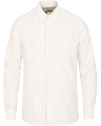 A Day's March Dyed Oxford Shirt Offwhite