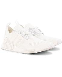 super popular 5d8dc eaea7 adidas Originals NMDR1 Primeknit Running Sneaker White