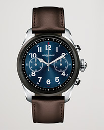 Summit2 42mm Smartwatch Steel Bicolor / Brown Calf