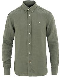 Morris Douglas Linen Shirt Olive 34f9e382e14cc