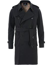 Aquascutum Corby Double Breasted Trenchcoat Navy
