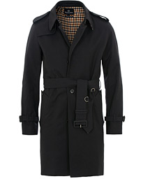 Aquascutum Corby Single Breasted Trenchcoat Navy