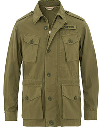 Aspesi Vancouver Cotton Field Jacket Military Green