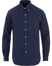 Polo Ralph Lauren Slim Fit Featherweight Twill Shirt Newport Navy f61e591513c68