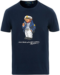 2c051f46e95c83 Polo Ralph Lauren Skipper Bear Crew Neck Tee Cruise Navy