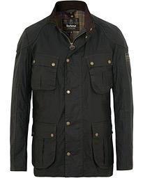 83a369ddf6f0 Barbour International Lightweight Lockseam Wax Jacket Sage