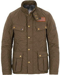 ed69a97f664b Barbour International Steve McQueen Jeffries Quilted Jacket Olive