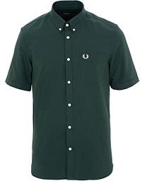 Fred Perry Classic Oxford Short Sleeve Shirt Green 682f118193549