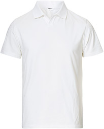Soft Lycra Polo T-Shirt White